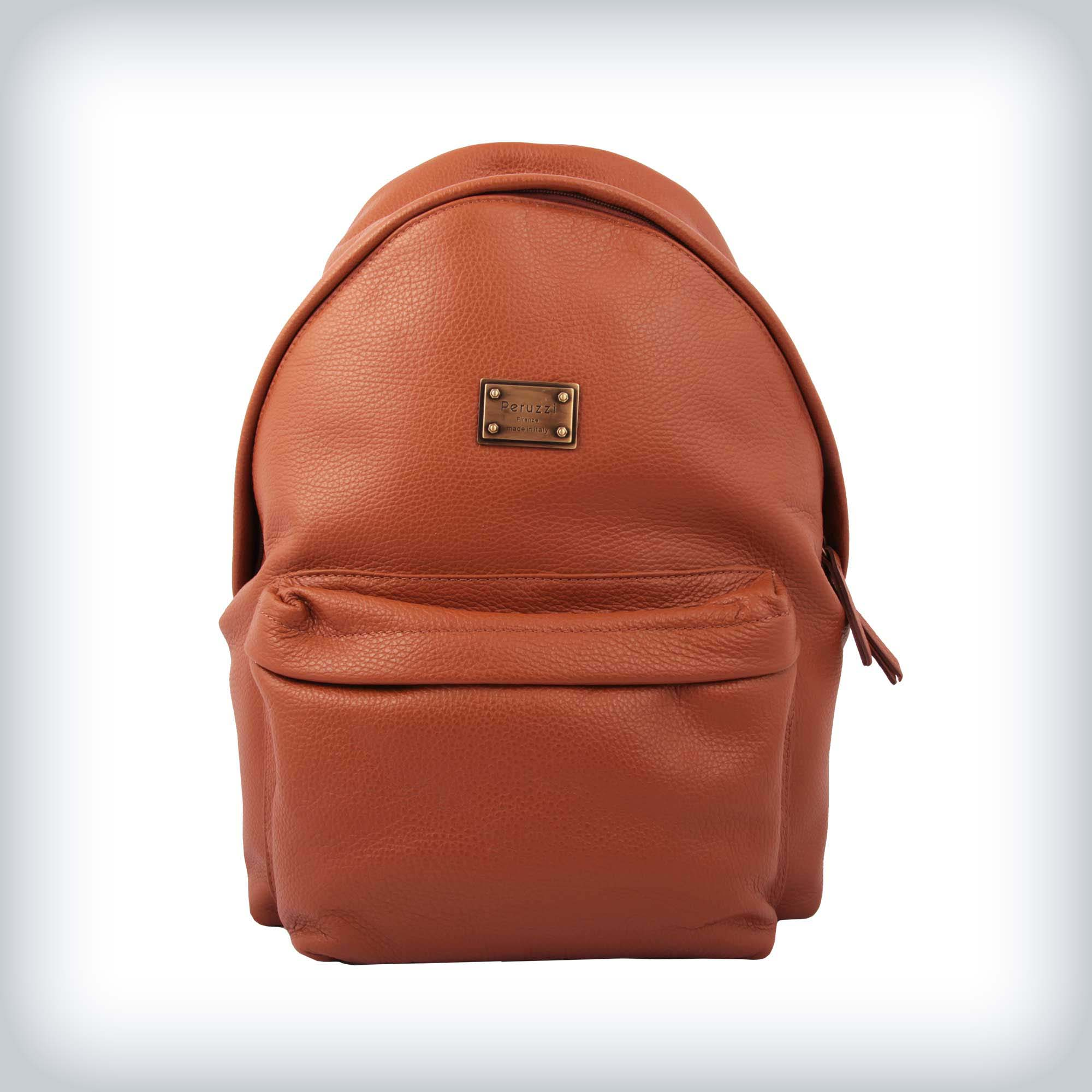 f42b8ec1f111f ... Leather Backpack Peruzzi Return to Previous Page. Out. of stock.  lightbox