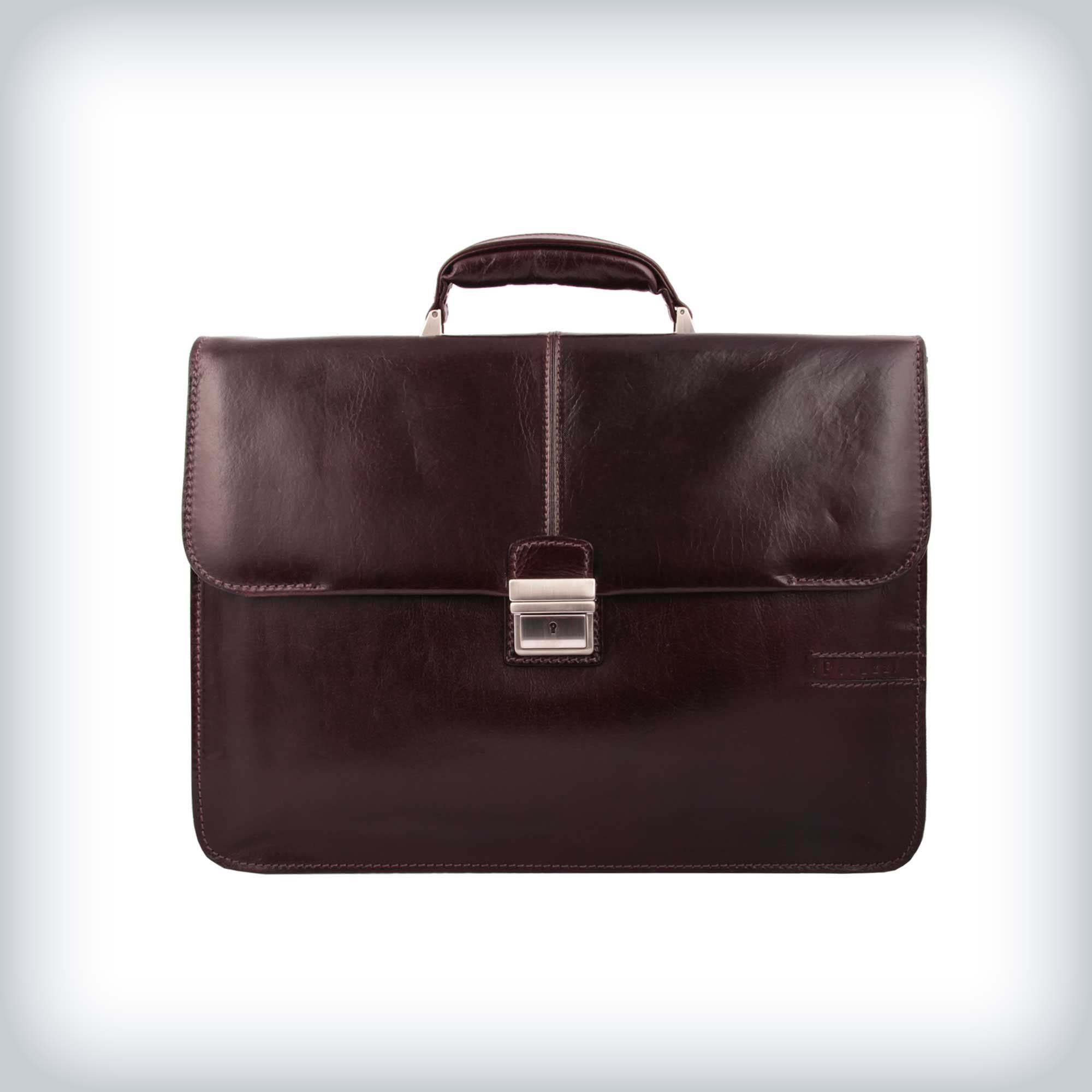 Leather Vintage Briefcase Peruzzi