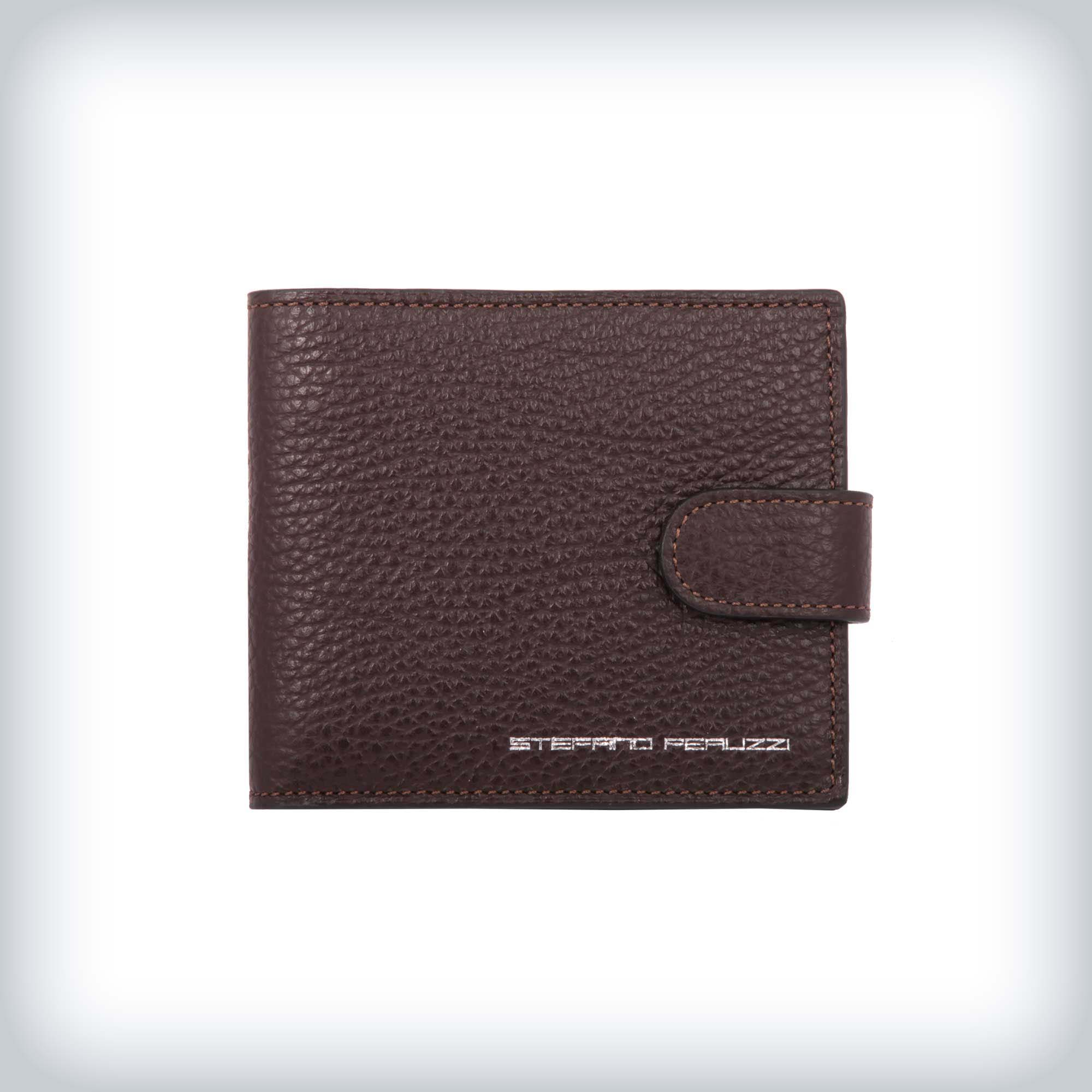 "Deerskin leather wallet ""Stefano Peruzzi"""