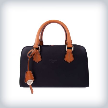 Leather Handbag Luxury Italian Style Peruzzi