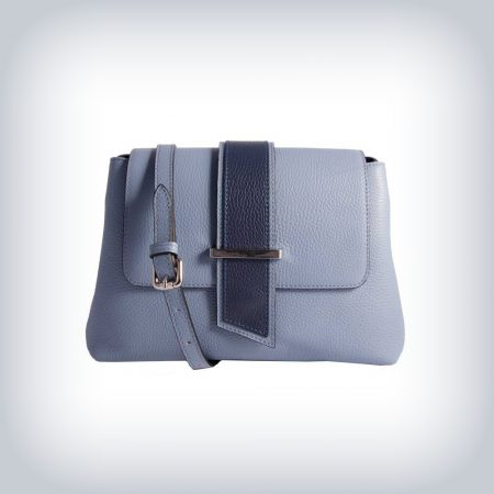 Bicolor shoulder bag Peruzzi