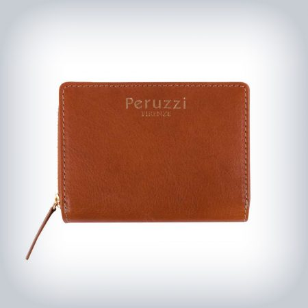 Zipper Leather Wallet Peruzzi