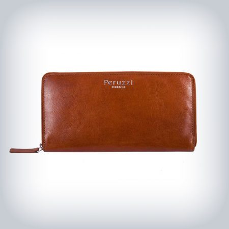 "Woman's Leather Wallet Peruzzi ""Magnolia"""