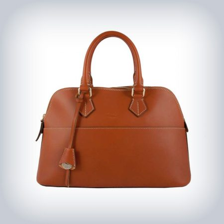 "Leather Bag ""Bugatti"" Peruzzi Selleria"