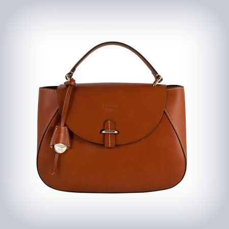"Leather bag ""Satchel"" Peruzzi Selleria"
