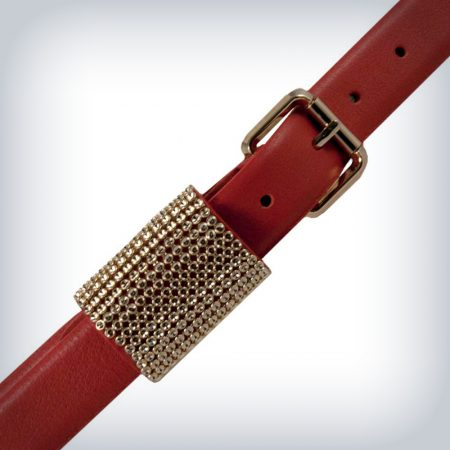 "Women Leather Belt ""Shiny"" Peruzzi"