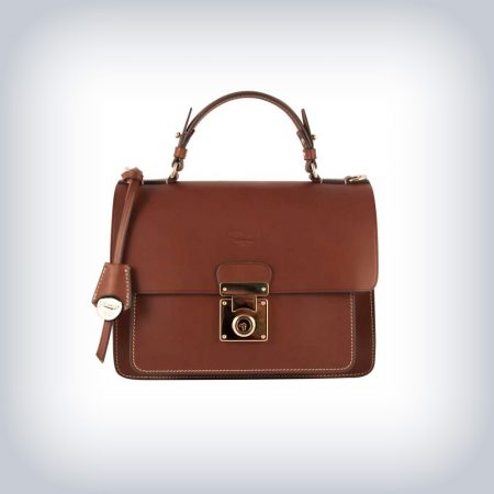 "LEATHER BAG "" BUCKLE"" PERUZZI SELLERIA"