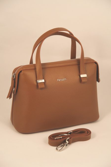 Peruzzi Leather Handbag