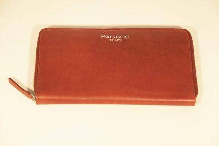 "Woman's Leather Wallet Peruzzi ""Magnolia"""